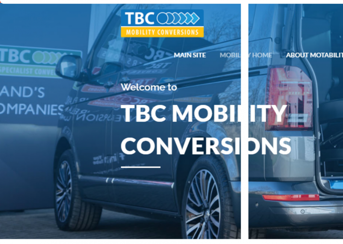 Motability mobility conversions page